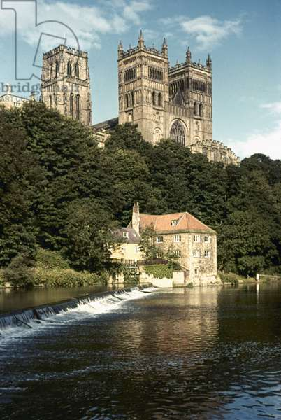 ENGLAND: DURHAM CATHEDRAL.
