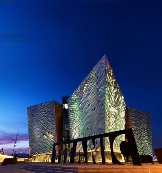 The newly opened Titanic Signature building in Belfast (photo)