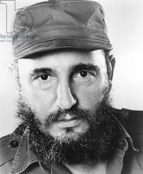 Cuba: Fidel Castro, Cuban revolutionary leader, c. 1960