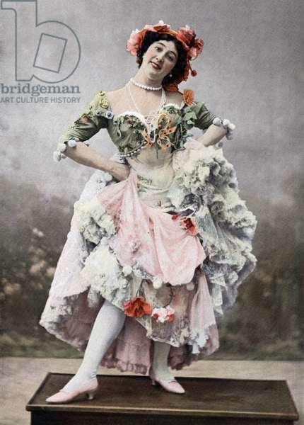 Caroline Otero aka La Belle Otero (1868-1965) as Mercedes in play