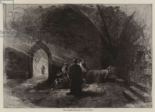 The Death-Chamber of Columbus (engraving)