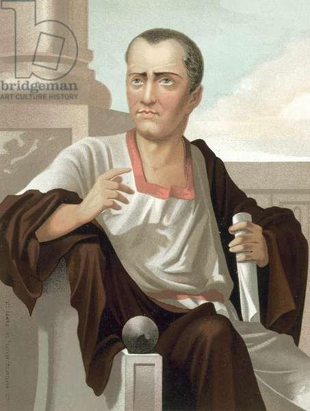 Lucius Junius Brutus (chromolitho)