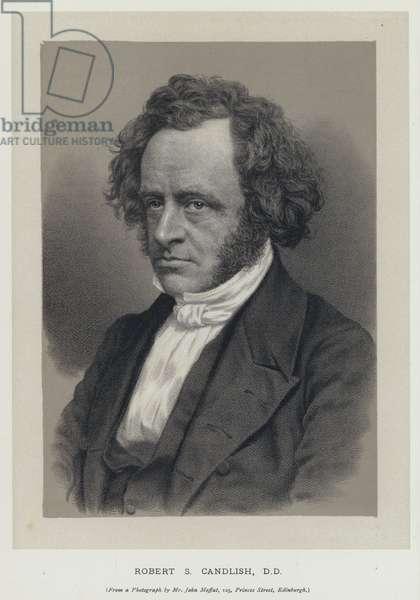 Robert S Candlish, DD (engraving)