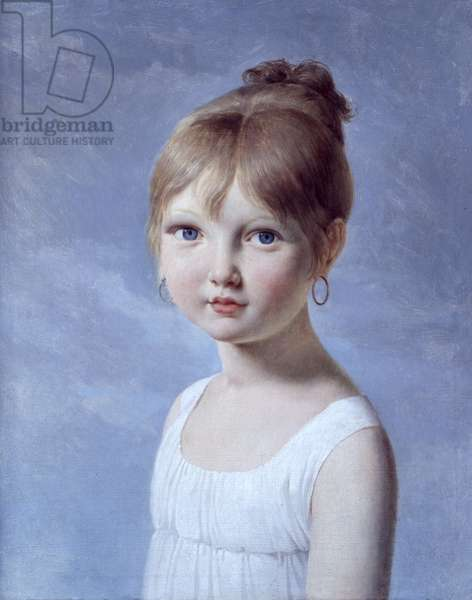 Portrait of the Daughter (oil on canvas)