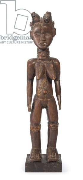 Dan female figure (wood)