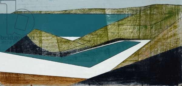 Harbour Coast 11, 2014 (acrylic on plywood)