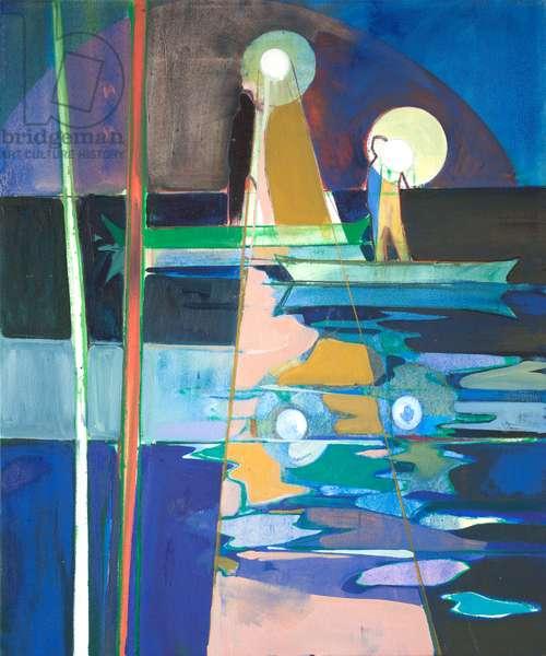 spotlight reflect, 2017 (oil on canvas)