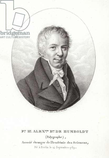 Friedrich Wilhelm Heinrich Alexander von Humboldt (engraving)