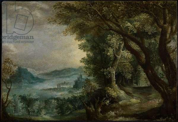 Imaginary Landscape, after 1600 (oil on copper)