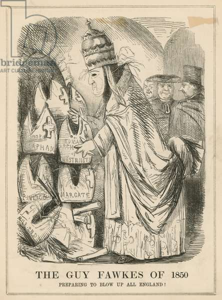 The Guy Fawkes of 1850 (engraving)