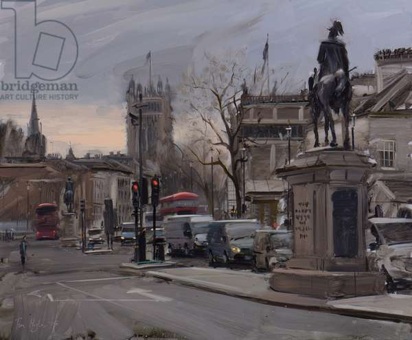 Whitehall, Early Afternoon, April