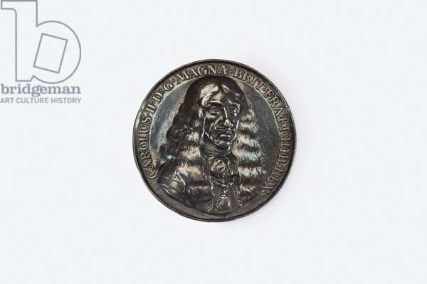 Medal commemorating Charles II's embarkation at Scheveningen prior to returning to England for his Restoration, 1660 (silver)