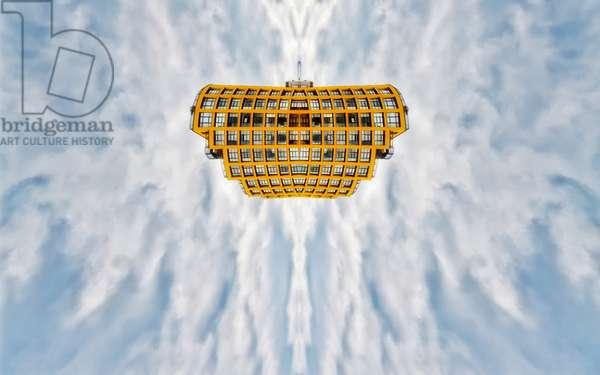Yellow Shuttle, 2015 (digital image)