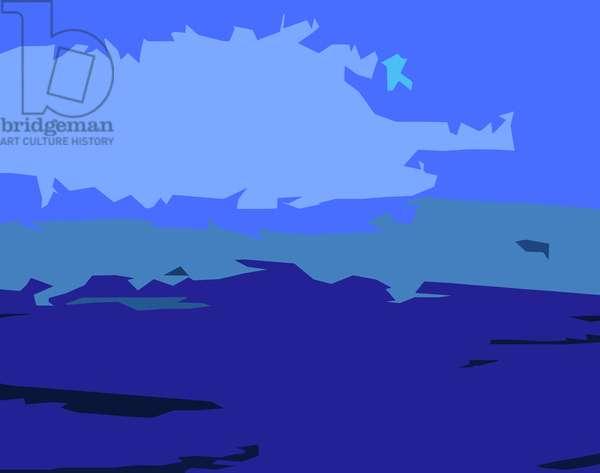 Seascape,2016,(c-print)