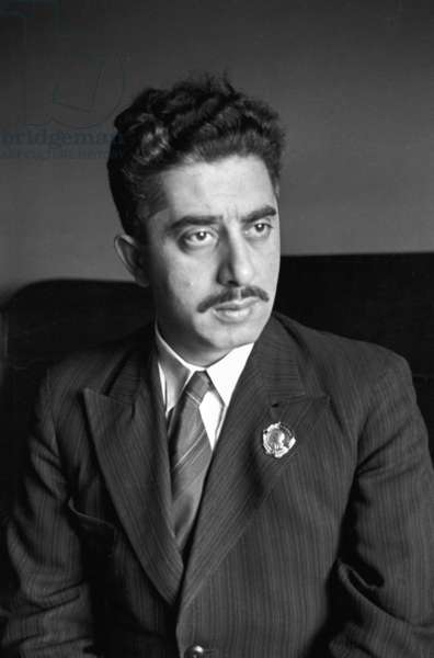 Aram Khachaturyan, 1941 (b/w photo)