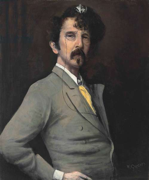 Portrait of James McNeill Whistler, 1871 (oil on canvas)
