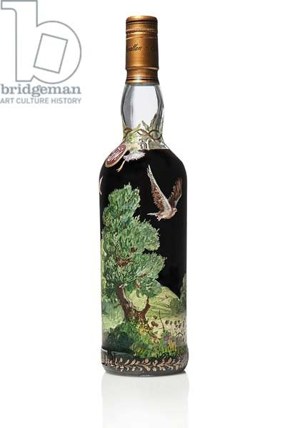 The Macallan 1926, 60 Year Old, 1986 (hand-painted glass bottle)