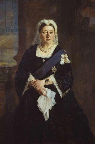 Queen Victoria, 1875 (oil on canvas)