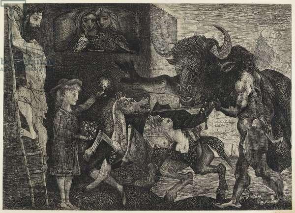 Minotauromachie, 1935 (etching and drypoint)