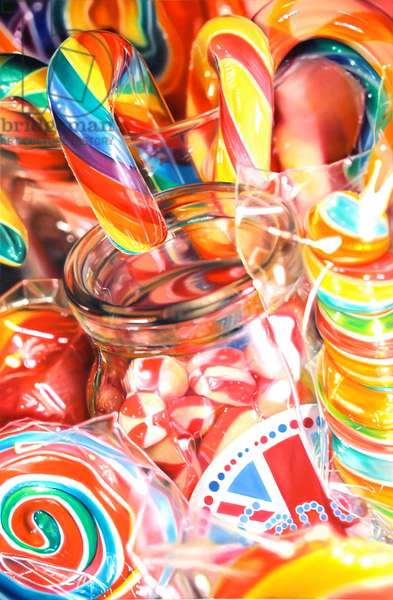 Candy Carnival, 2012, (oil on canvas)