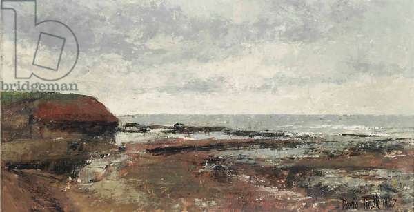 Rocks, Arbroath, Angus, 1957 (oil on board)