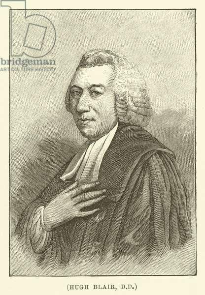 Hugh Blair, DD (engraving)