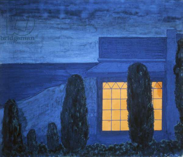 The Holiday House, 1907 (tempera on canvas)