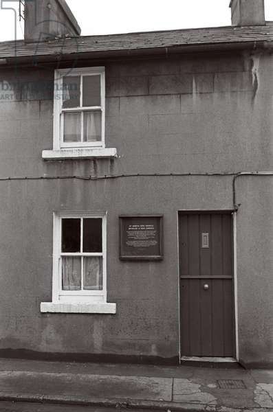 Nora Barnacle's, James Joyce wife, house in Galway, Ireland (photo)