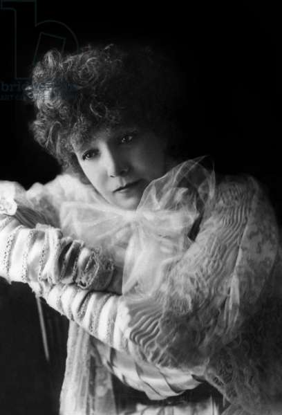 Actress Sarah Bernhardt (1844-1923), c. 1905