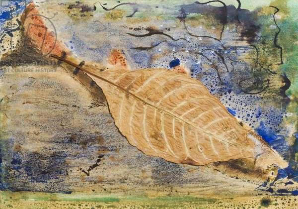 Untitled (Leaf Skeleton), 1948 (w/c on paper)