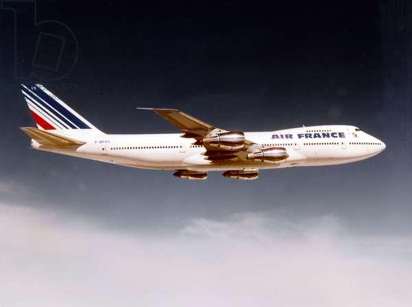 322-tonne plane Air France Boeing 747