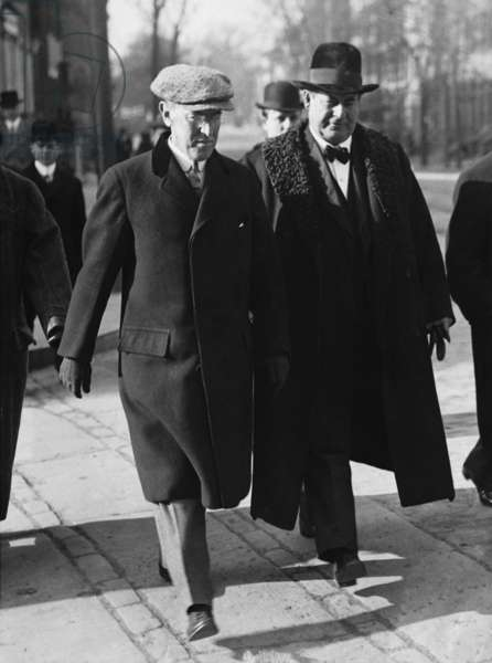 Woodrow Wilson and Jennings Bryan (b/w photo)