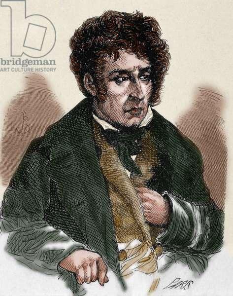 Chateaubriand, François Ren_, Vicomte de (1768-1848).