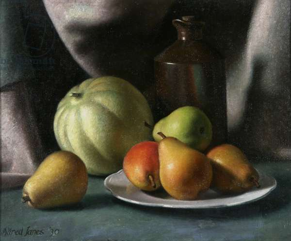 Still Life with Fruit, 1930 (oil on canvas)