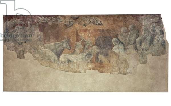Arca di Noè, 1425-1430 (fresco)