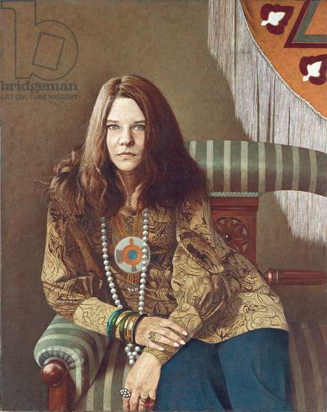 All She Needs is Love (Janis Joplin), 1970 (oil on canvas)