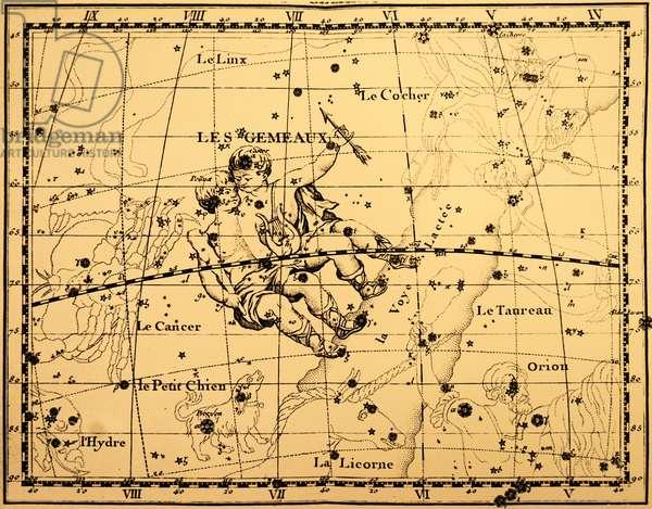 The constellation Gemini.