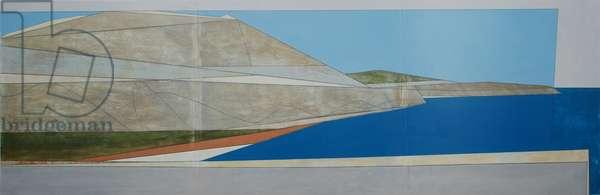 Argolis Wall 2, 2011 (acrylic on hardboard)