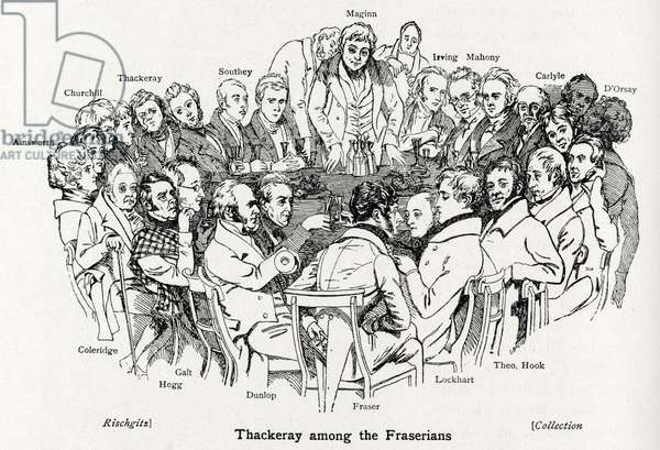 The Fraserians seated around