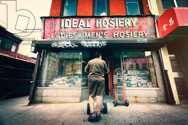 IDEAL HOSIERY, 2007, photograph