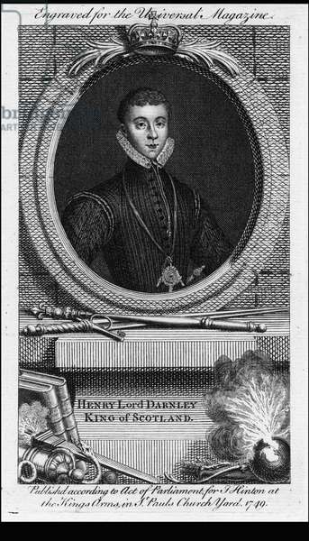Henry Stuart, known as Lord Darnley (1545 - 1557)