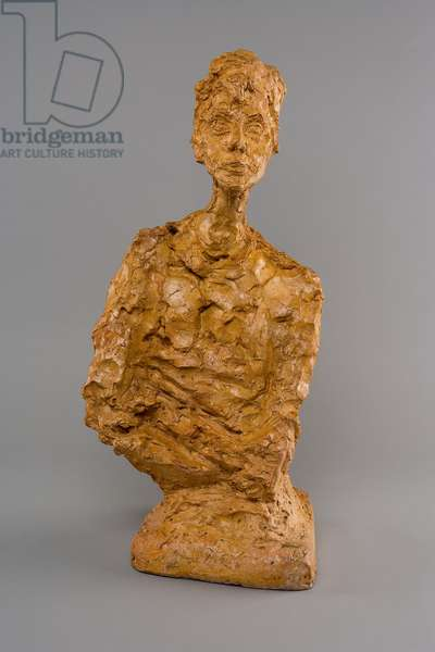 [Bust of Woman with Folded Arms (Francine Torrent)], 1964 (plaster)