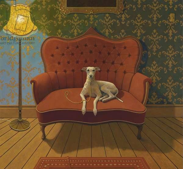 Lucky Jim, 2016 (oil on canvas)