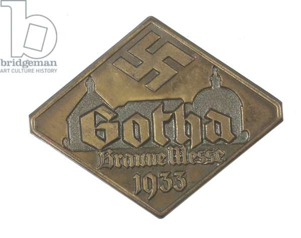World War II, Nazi Germany ,  Nazi Party Day Badge