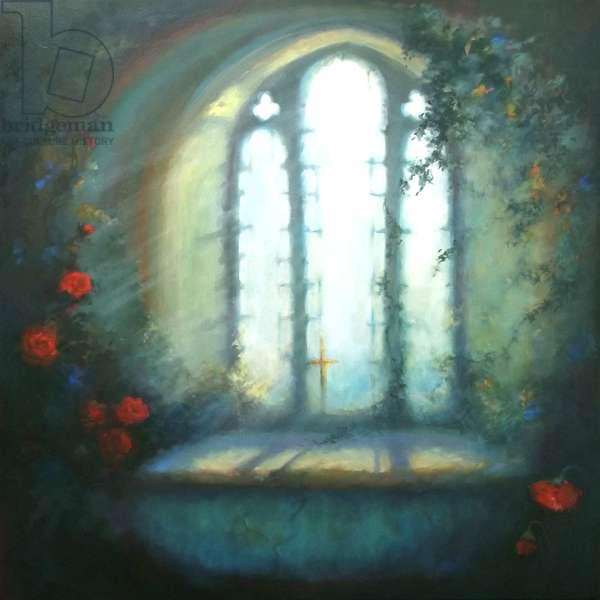 Sanctuary, 2016 (oil on canvas)