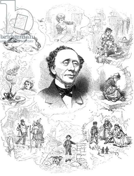HANS CHRISTIAN ANDERSEN (1805-1875). Danish writer.