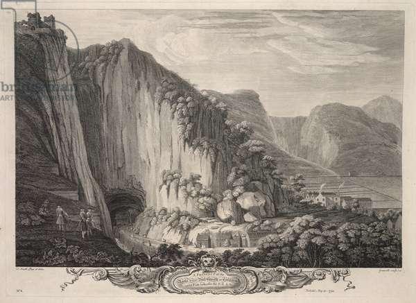 The rocks & cavern at Castleton