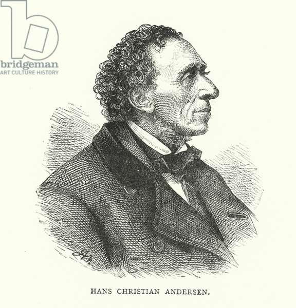 Hans Christian Andersen (engraving)