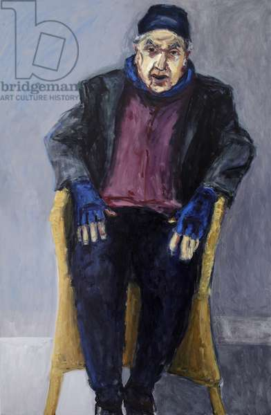 My Father, 2011 (acrylic and oil on canvas)
