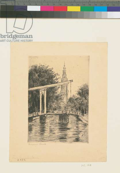 From Amsterdam, 1906 (etching)